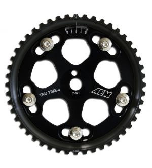 AEM Tru-Time Adjustable Cam Gear Black