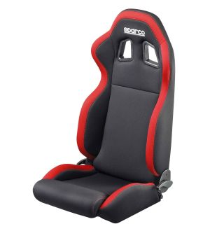 Sparco R100 Reclining Seat - Black/Red