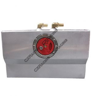 CX Racing Alum Coolant Water ICE Tank Supercharger Air-Water Drag Racing