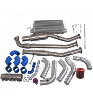 CX Racing Intercooler Piping Radiator Pipe 2JZ-GTE 2JZ Engine Swap Kit For 240SX S13 S14