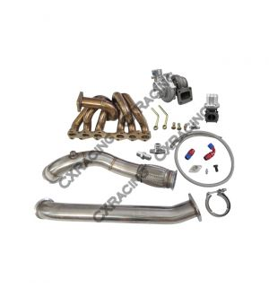 CX Racing Turbo Manifold Downpipe Kit for Cressida 1JZ-GTE MX83 1JZGTE Swap