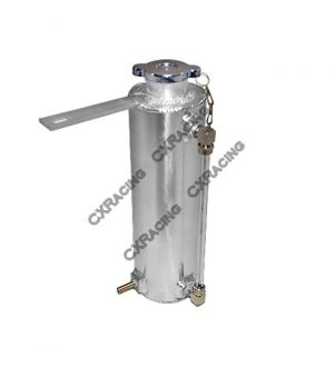 CX Racing Aluminum Overflow Coolant Reservoir Tank For Honda Civic Integra