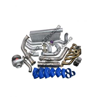 CX Racing T4 T70 Turbo Intercooler Kit For Land Cruiser J80 1FZ-FE 1FZ 1FZFE
