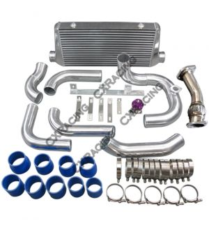 CX Racing Intercooler Piping Intake Kit Turbo Downpipe For SC300 1JZ-GTE VVTI Swap
