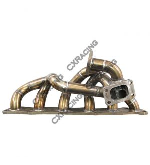 CX Racing Stainless Steel Top Mount Manifold For Nissan Skyline GTR RB25DET/RB20DET