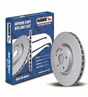 Hawk Quiet Slot Front Rotor Single