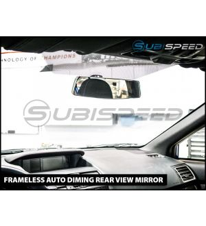 Frameless Rear View Mirror (Auto Dimming, Optional Compass) - 2015+ WRX / 2015+ STI / 2013+ BRZ / 2014+ Forester