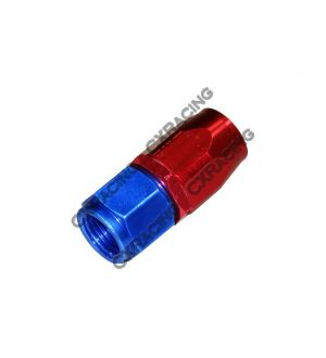 CX Racing AN 8 AN8 8AN Straight Reusable Hose End Anodized Aluminum Oil Fitting