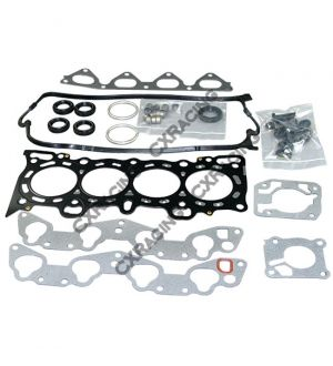 CX Racing Engine Gasket kit Metal 3 layers For Civic CRX D15 D16 SOHC Engine