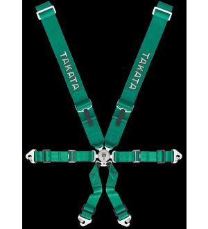 Takata RACE 6-Point Sub-Strap (T-Bar) Green