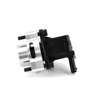 Boomba Racing Mustang EcoBoost Blow Off Valve Adapter - Black Anodize