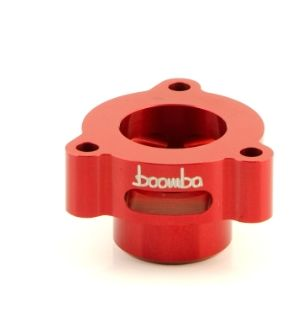 Boomba Racing Mustang EcoBoost Blow Off Valve Adapter - Red Anodize