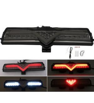 Smoked LED Rear Bumper Backup Reverse Light Brake Fog Lamp For 13-17 FRS BRZ