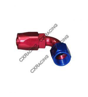 CX Racing AN 8 AN8 8AN 90 Degree Swivel Oil/Fuel Hose End Aluminum Oil Fitting