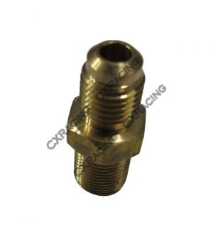 CX Racing Copper Turbo Oil Feed Fitting M12 x1.0 AN4 AN 4 4AN T25 T28 GT25 GT28