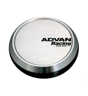 Advan Racing Centercap 73 Flat Type Silver Universal