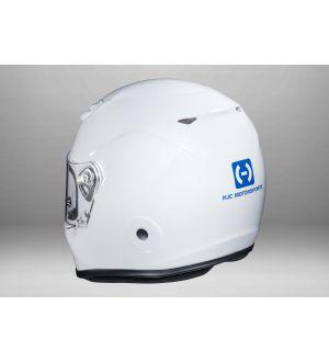 HJC Motorsports AR10 III Helmet White