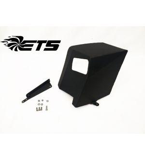 ETS Air Intake Heat Shield Wrinkle Black