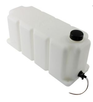 AEM Water/Methanol Injection Tank V2 with Conductive Fluid Level Sensor 5 Gallons