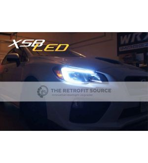 Morimoto XSB Switchback LED C-light DRLs for Headlights - 2015+ WRX / 2015+ STI
