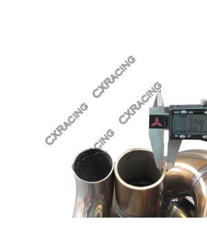 CX Racing Single Turbo Manifold Downpipe Oil Line Kit For SC300 2JZ-GTE Swap 2JZGTE