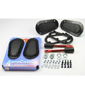 Aerocatch Hood Pins Flush Non-Locking Kit