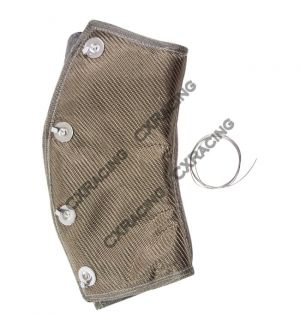 CX Racing Titanium Heat Wrap Heatshield 3
