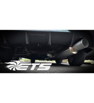 ETS 03-06 MITSUBISHI EVO 8/9 Stainless Steel Catback Exhaust System - 3.5