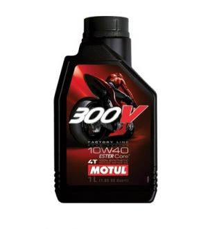 Motul 300V Full Synthetic Motor Oil 10W40