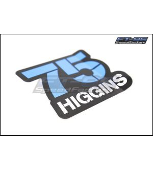 Subaru Rally Team Higgins #75 Sticker - Universal