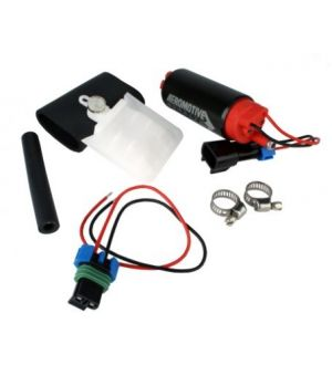 Aeromotive Stealth 340 340lph Fuel Pump Offset Inlet Universal