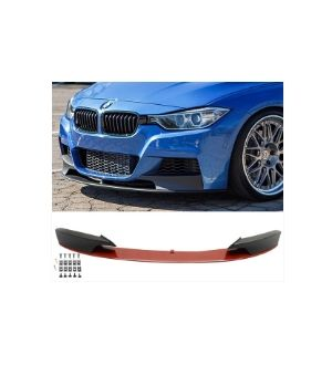 Ikon Motorsports 12-18 BMW F30 3 Series Performance Front Lip Painted Melbourne Red Metallic #A75