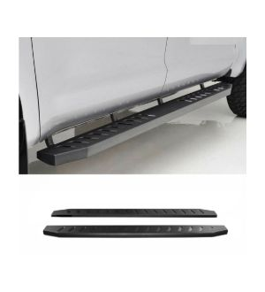 Ikon Motorsports Fits 05-19 Toyota Tacoma Double Cab Raptor Side Step Bar Running Boards 78