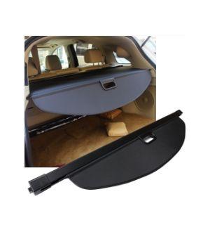 Ikon Motorsports 13-18 Acura RDX Tonneau Cargo Shade Cover Black-PU Leather