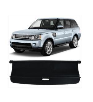 Ikon Motorsports 06-13 Land Rover Range Rover Sport Tonneau Cargo Shade Cover Black-PU Leather