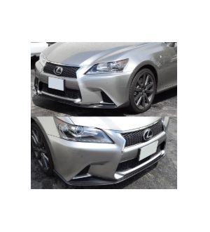 Ikon Motorsports 2013-2015 Lexus F Sport Only GS350 450 Sk Style Sedan Front Bumper Lip CF