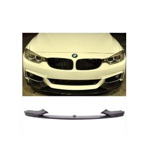 Ikon Motorsports 2014-2015 BMW F32 F33 F36 M-Tech & M-Sport Performance Front Bumper Lip Carbon Fiber CF