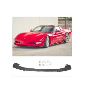 Ikon Motorsports 1997-2004 Chevy Corvette C5 IKON Style Carbon Fiber CF Front Bumper Lip Splitter