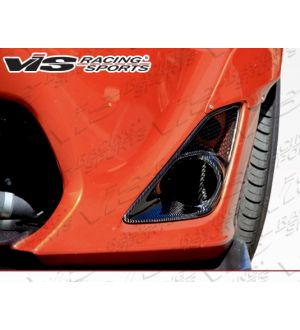 Vis Racing 2013-2015 Scion FRS 2dr Pro Line Carbon Fog Light Garnish