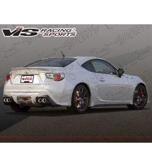 Vis Racing 2013-2015 Scion FRS 2dr Techno R Rear Lip
