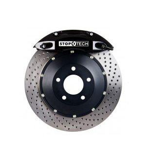 Stoptech 355x32 Big Brake Kit Drilled / Black (Front) - 2013+ BRZ