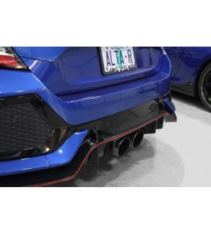 Alta Cat Back Exhaust Non Resonated Honda Civic Type R 2017+