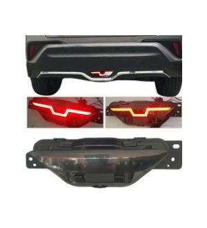 Ikon Motorsports 17-18 Toyota C-HR CHR DRL Brake Light Reverse Back Up Light Tail Light