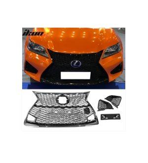 Ikon Motorsports Fits 16-19 Lexus GSF Sedan OE Factory Style Grille
