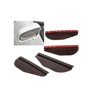 Ikon Motorsports Fit Lexus Smoke Rainproof Eyebrow CoverTruck Auto Rear View Side Mirror Visor