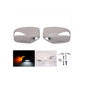Ikon Motorsports 2015-2019 FRS GT86 FT86 BRZ Painted Mirror Cover Replacement LED -ABS #K1X