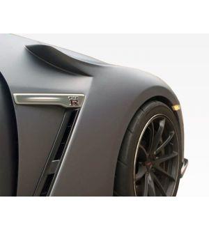 VIS RACING 2009-2016 Nissan Skyline R35 Gtr SK Carbon Fiber Fenders