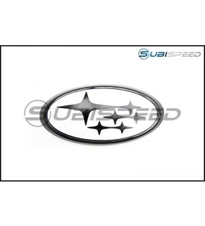 Front and Rear Emblem Frames (Gloss Black) - 2015+ WRX / 2015+ STI