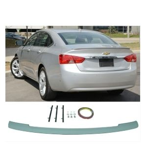 Ikon Motorsports 2014-2019 Chevy Impala Flush Mount OE Style Trunk Spoiler Unpainted ABS