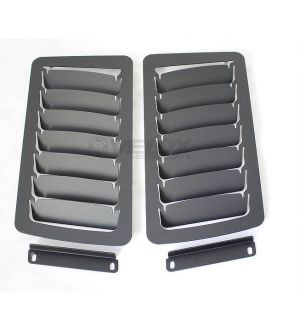 Velox Hood Louver Kit, Large Vents FR-S / BRZ / GT86